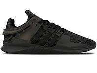 """Мужские Кроссовки Adidas Equipment *EQT* """"Black"""" - """"Черные"""" (Копия ААА+)"""