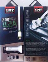 Автомобильная Зарядка(micro)EMY MY-115