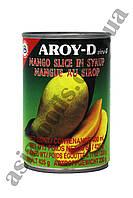 Манго в сиропе Aroy-D 425 г, фото 1