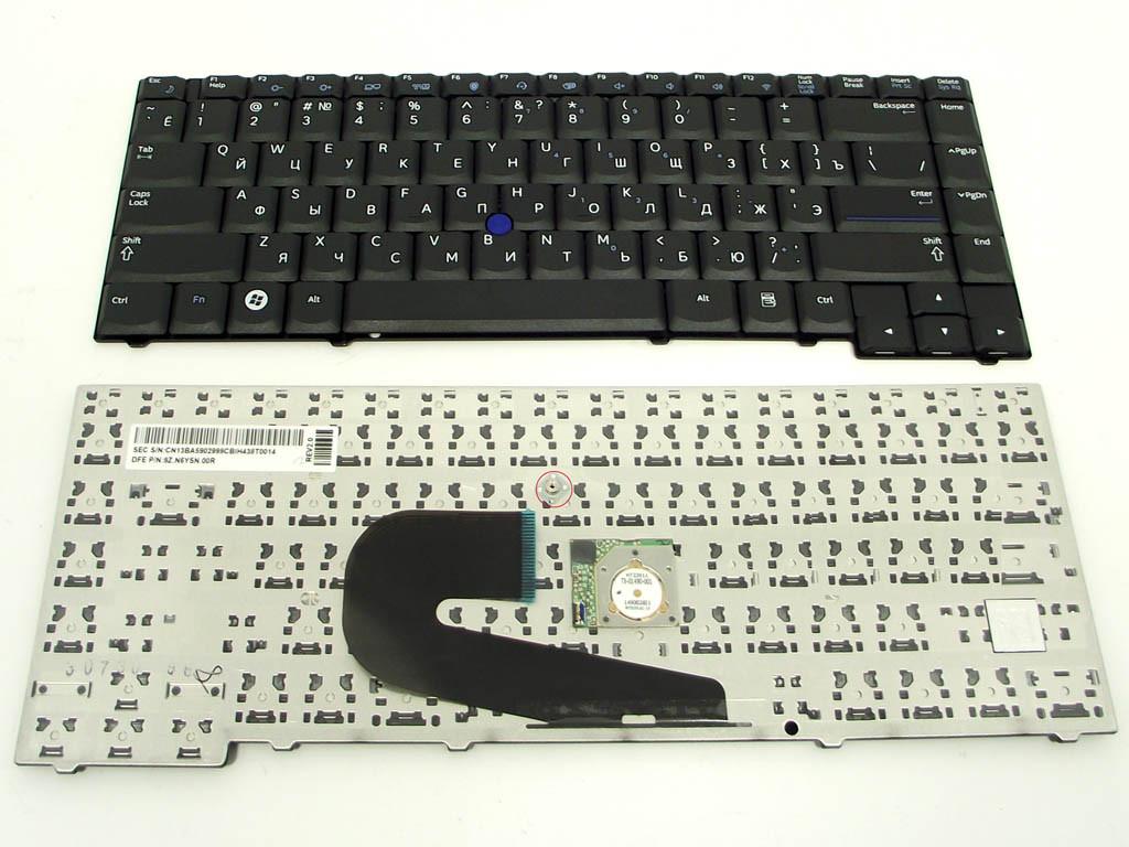 Клавиатура Samsung Aegis 400B BLACK(RU black With Point stick ). Ориги