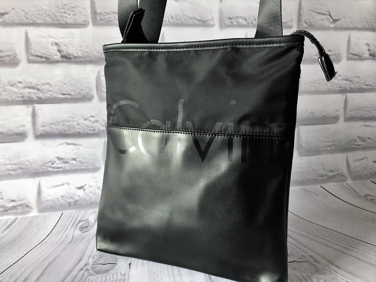 bec4eeed16b7 Мужская сумка через плечо реплика Calvin Klein - Интернет магазин  tsarsky-shop.com в