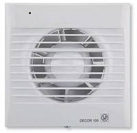Soler & Palau DECOR-100 CHZ -бытовой вентилятор с клапаном, подшипниками, таймером и датчиком влаги