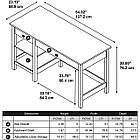 """Письменный деревянный стол """"Ольгерд"""" от производителя, фото 4"""