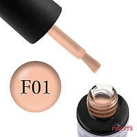 Гель-лак Naomi French № FC01 (персиковый, полупрозрачный, для френча, эмаль), 6 мл