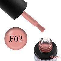 Гель-лак Naomi French № FC02 (оранжево-розовый, полупрозрачный, для френча, эмаль), 6 мл