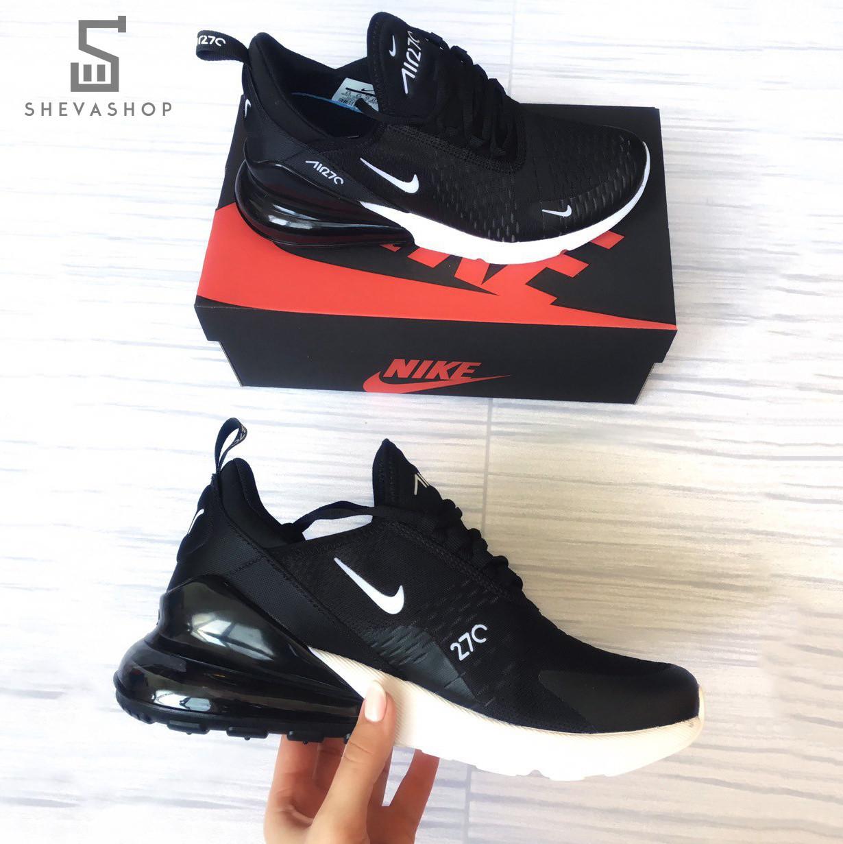 Мужские кроссовки N*ke Air Max 270 чёрные (копия)