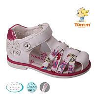 Закрытые ортопедические  босоножки для девочки Том.м