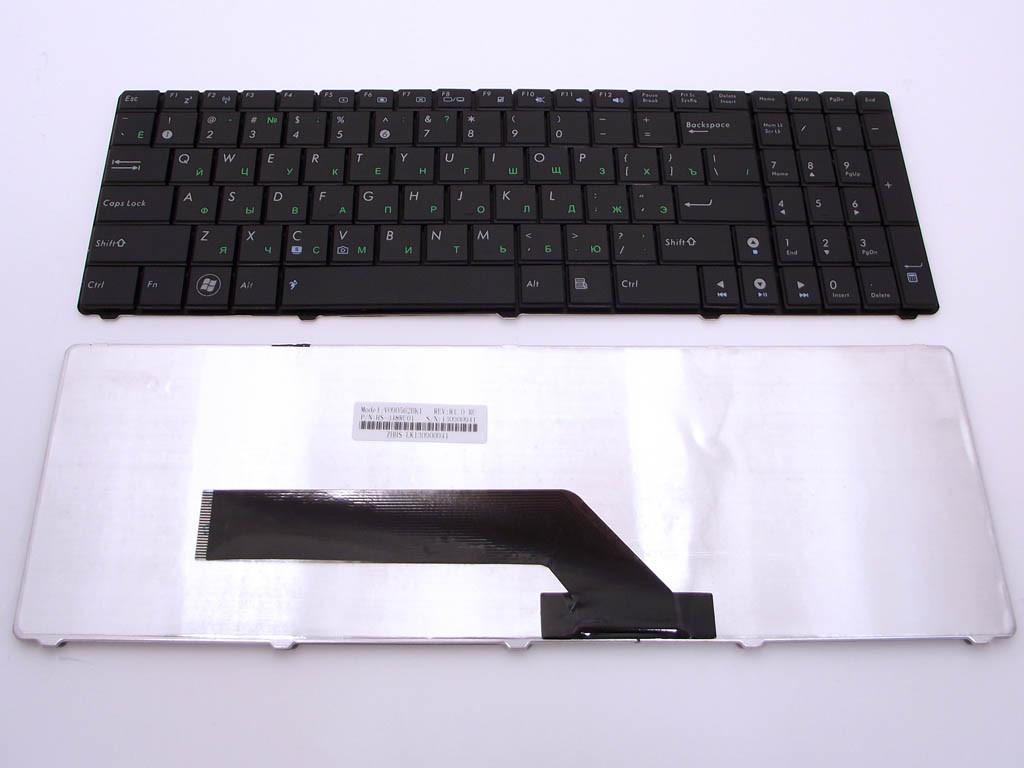 Клавиатура ASUS K50, K70, K50IJ, K50ID, K60, K61, K70, K50C ( RU black