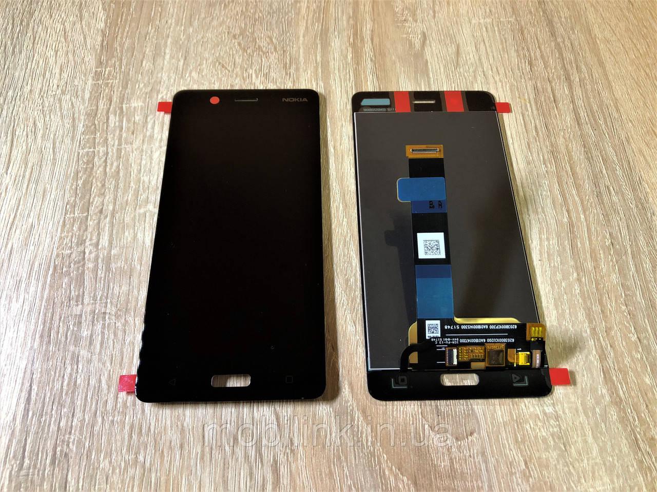 Дисплейный модуль( дисплей с сенсором) Nokia 5 Dual Sim чёрный, Black ,20ND10W0001,Оригинал!