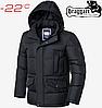 Модная куртка большого размера Braggart Titans - 3284 графит