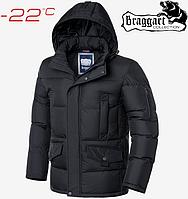 Модная куртка большого размера Braggart Titans - 3284 графит, фото 1