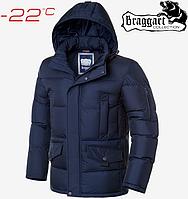 Куртка большого размера Braggart Titans - 3284 темно синий, фото 1