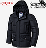 Стильная куртка большого размера Braggart Titans - 3284 черный