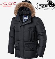 Куртка большого размера Braggart Titans - 2084 графит, фото 1