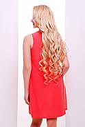 Женское нарядное воздушное платье Тина / размер 42-50 / цвет персик, фото 2