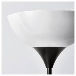 НОТ Светильник напольный, черный, 20139874, IKEA, ИКЕА, NOT, фото 2