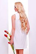 Женское нарядное воздушное платье Тина / размер 42-50 / цвет молоко, фото 2