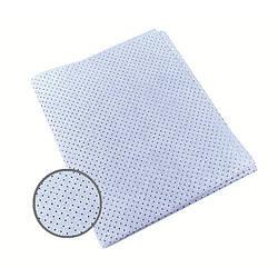 Профессиональная тряпочка для авто (перфорированная  синяя) 40x50