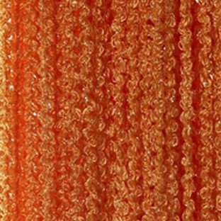 Шторы нити Спираль №3 Оранжевый