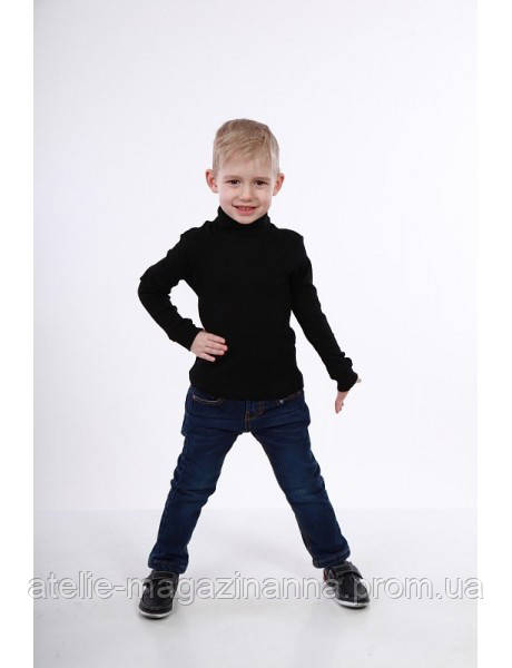 Гольф детский на мальчика черный (разные цвета)