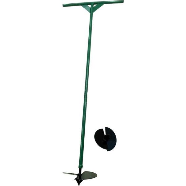 Бур садовый, ручной (две насадки 150 мм., 200 мм.)