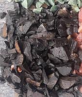 Мраморная крошка черная 5-10 для отсыпки