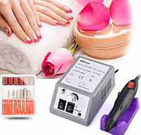🚀 Фрезер для маникюра Лина Мерседес 2000👉10w Lina Mersedes 2000 машинка для ногтей— серый, оригинал!☝🏻