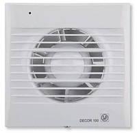 Soler & Palau DECOR-100 CZ - бытовой вентилятор с клапаном и подшипниками
