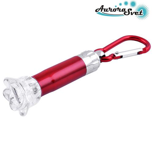 Фонарик брелок светодиодный.Фонарь для ключей.  LED фонарик. Светодиодный фонарь.