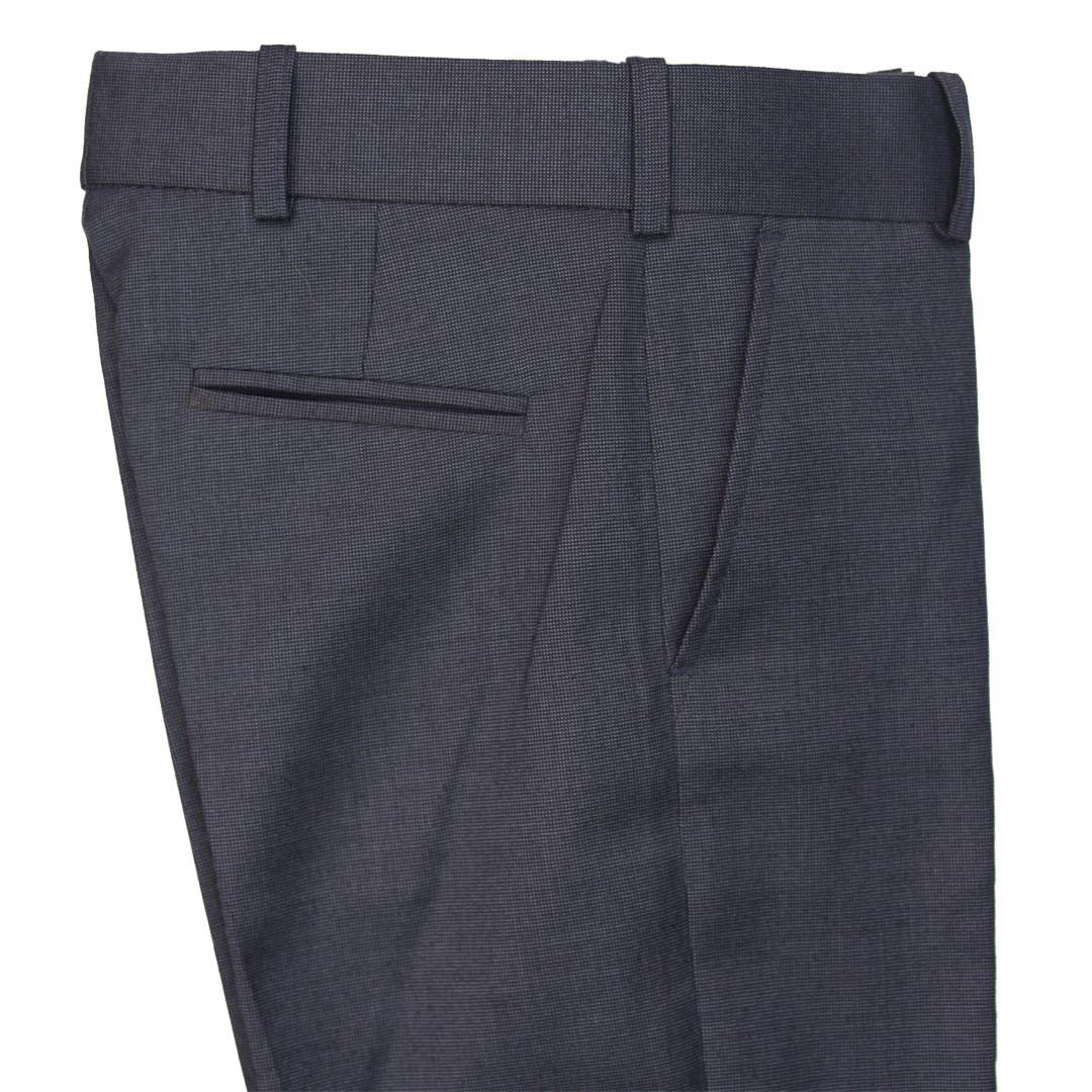 """Школьные брюки для мальчика  """"Милан""""синие в мелкую клетку"""