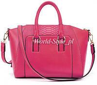 Розовая женская сумка 66645-1r