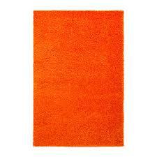 ТОФТБУ Коврик для ванной, оранжевый, 60x90 см, 90267090, IKEA, ИКЕА, TOFTBO