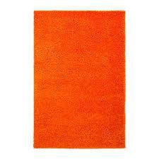 ТОФТБУ Коврик для ванной, оранжевый, 60x90 см, 90267090, IKEA, ИКЕА, TOFTBO, фото 2
