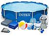 Каркасный бассейн Intex 366x76cm 15in1