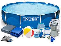 Каркасный бассейн Intex 366x76cm 15in1, фото 1