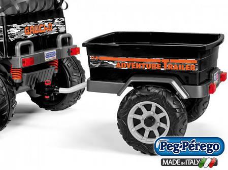 Прицеп Peg-Perego Adventure Trailer для детского электромобиля джипа Peg-Perego, фото 2