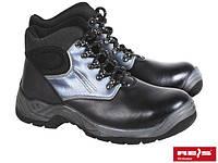 Ботинки кожаные с усиленным носком Польша BRZAND REIZ