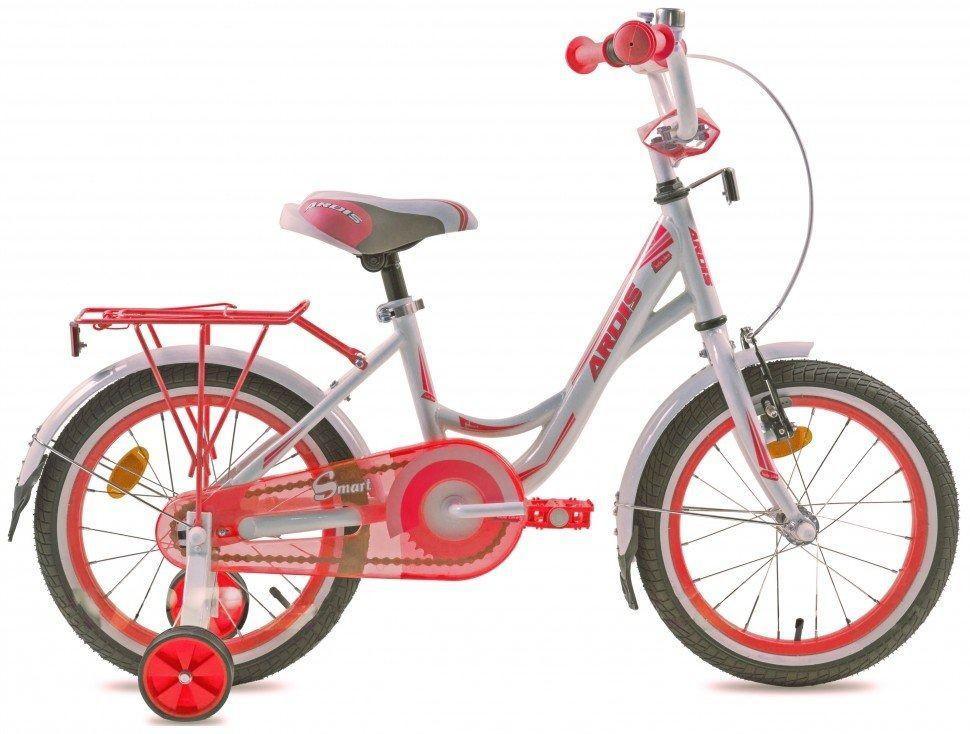 Велосипед детский ARDIS12 SMART BMX бело-розовый