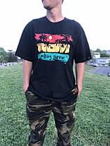 Яркая Широкая гетто футболка с принтом Swag Хип-Хоп, фото 2