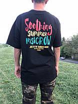 Яркая Широкая гетто футболка с принтом Swag Хип-Хоп, фото 3