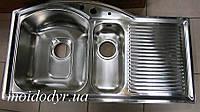 Мойка кухонная врезная из нержавеющей стали Intra Insatsbänk EUP60L, фото 1
