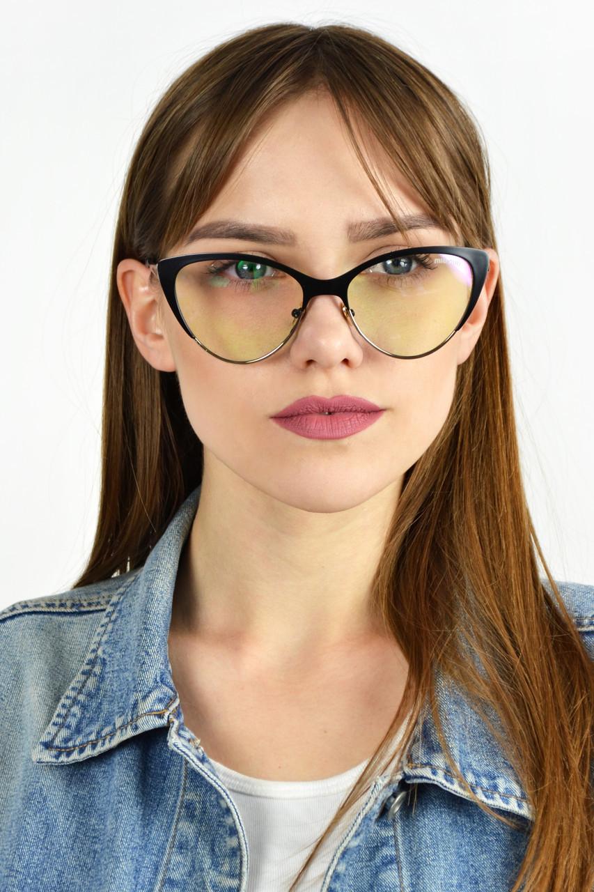 Имиджевые очки MIU MIU черные  продажа 9107f11ea6e8d