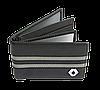 Шкіряна обкладинка для прав Carrs з логотипом RENAULT чорна (REN20), фото 3