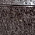 Деловая мужская сумка Bond из натуральной кожи, фото 7