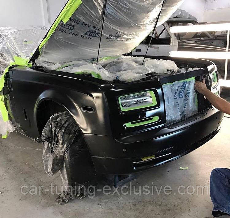 Conversion kit for Rolls-Royce Phantom 1 to 2