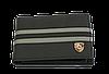 Кожаная обложка для прав Carrs с логотипом PORSCHE черная (POR06), фото 2