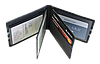 Шкіряна обкладинка для прав Carrs з логотипом FORD чорна (FO03), фото 4