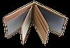 Кожаная обложка для прав Carrs с логотипом PORSCHE коричневая (POR06), фото 4