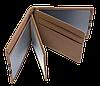 Кожаная обложка для прав Carrs с логотипом PORSCHE коричневая (POR06), фото 5