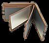 Кожаная обложка для прав Carrs с логотипом PORSCHE коричневая (POR06), фото 6